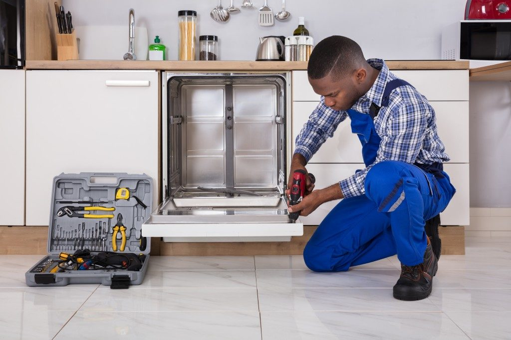 dishwasher maintainance