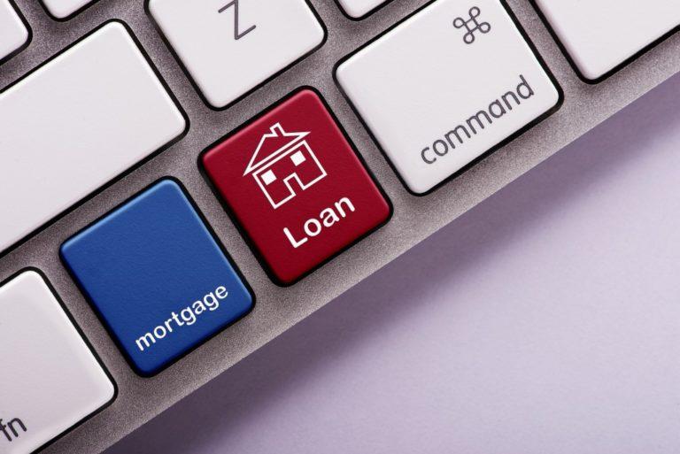 Mortgage loan button