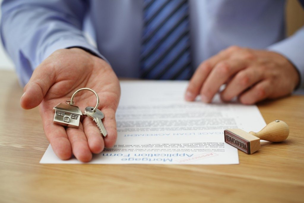 Securing house loan documents