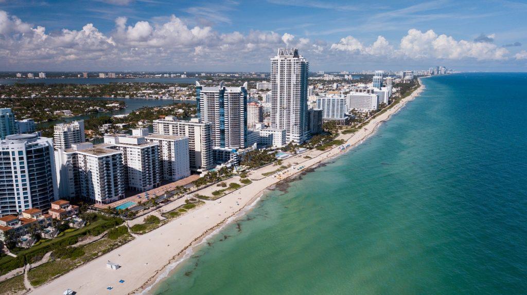 coastline in Fort Lauderdale