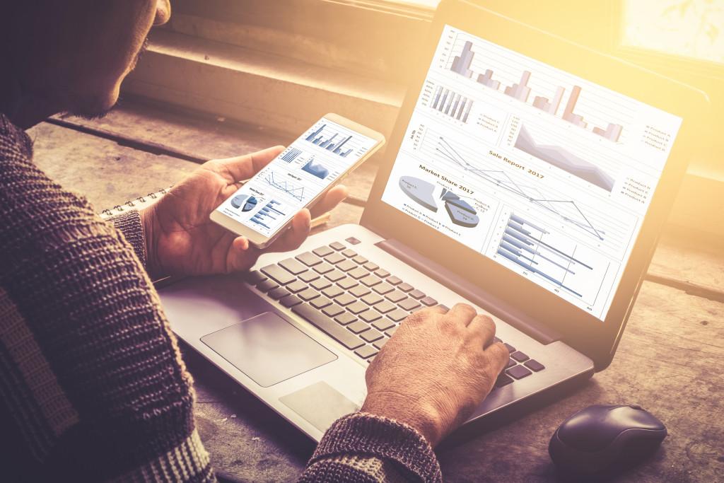 monitoring credit concept