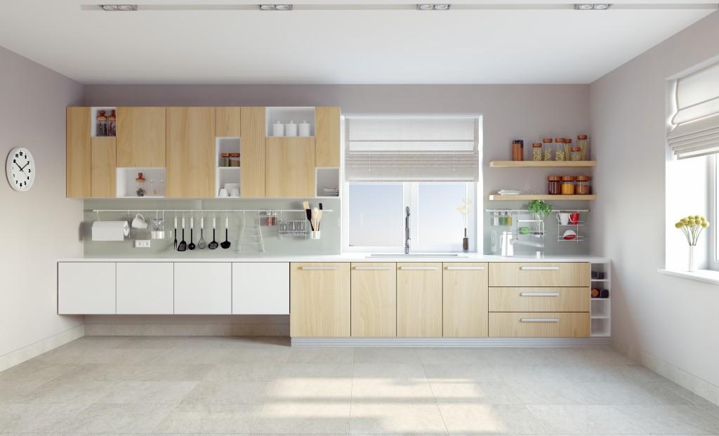 clean modern kitchen