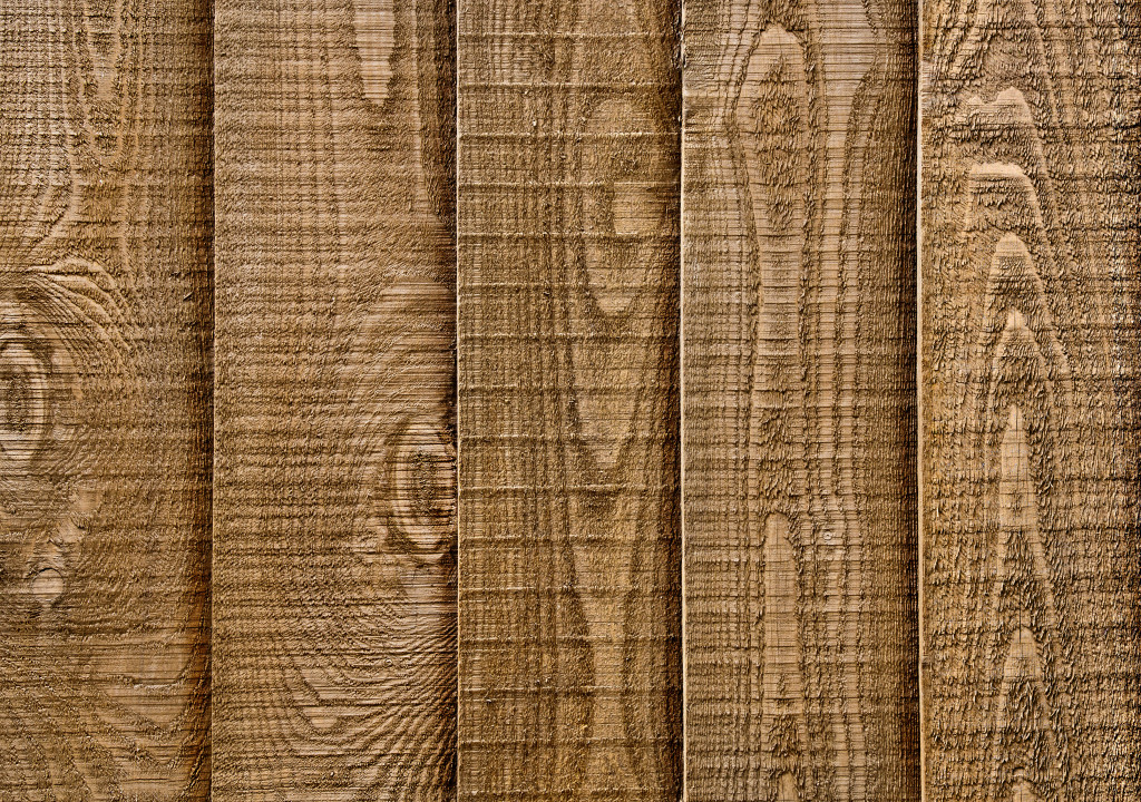 stained wood