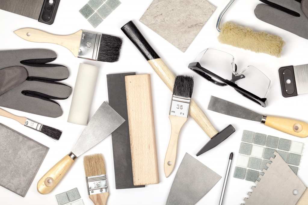 painting and construction materials