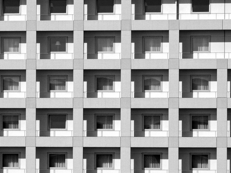 identical units of a building