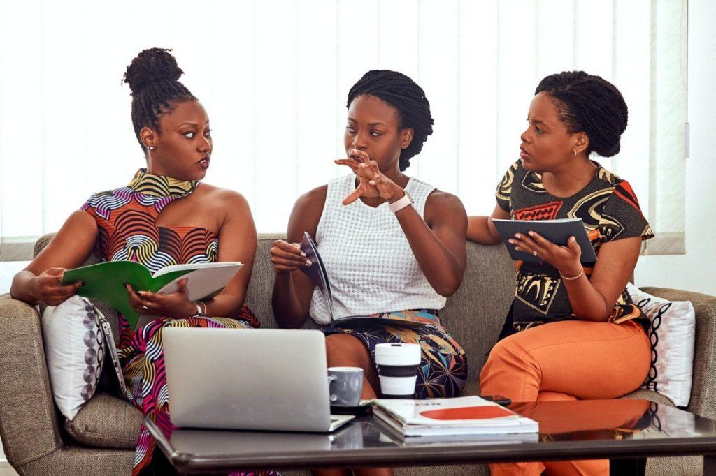 three entrepreneurs