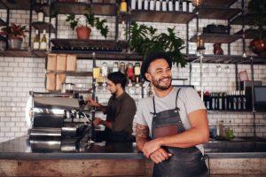 cafe shop entrepreneur