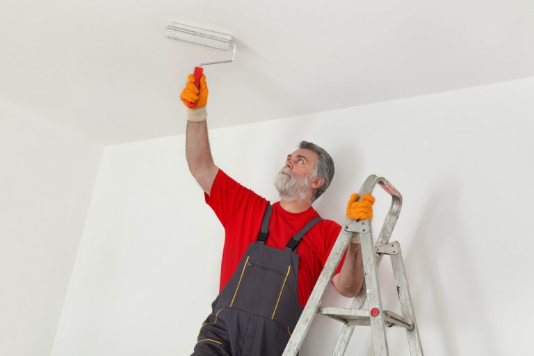 repainting walls and ceilings