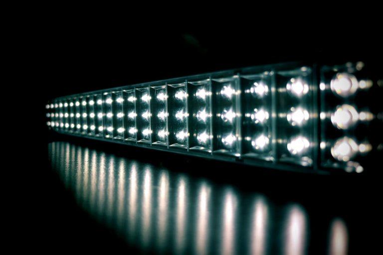 led light in the dark