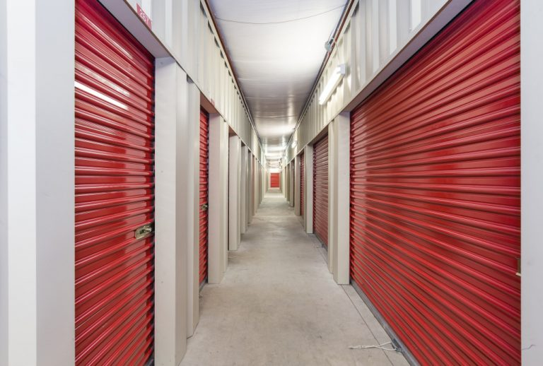 red office storages